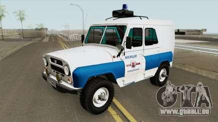 UAZ 3151 (Kommunale Polizei) für GTA San Andreas