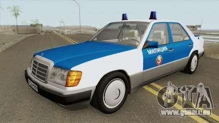 Mercedes-Benz W124 (Police) 1990 pour GTA San Andreas
