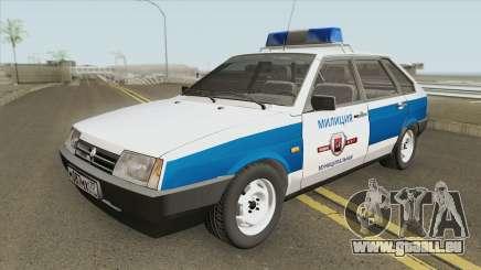 2109 (Police Municipale) pour GTA San Andreas