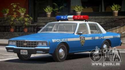Chevrolet Impala NYC Police 1984 für GTA 4