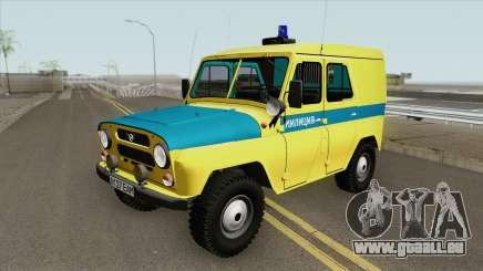 UAZ 469 (Syndicat de la Police) pour GTA San Andreas