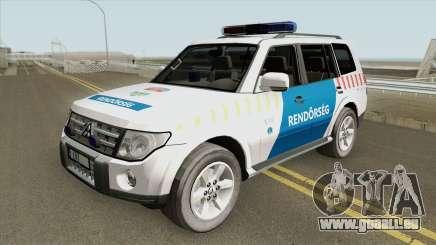 Mitsubishi Pajero (Magyar Rendorseg) pour GTA San Andreas