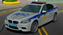 BMW M5 F10 SB police de la circulation