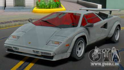 Lamborghini Countach LP400S 1978 (IVF) pour GTA San Andreas