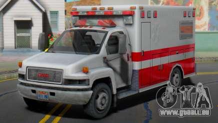 GMC C5500 Topkick 2008 Ambulance für GTA San Andreas