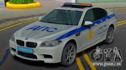 BMW M5 F10 SB police de la circulation pour GTA San Andreas