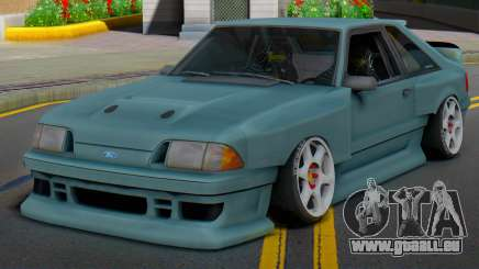 Ford Foxbody Wickedz Edition pour GTA San Andreas