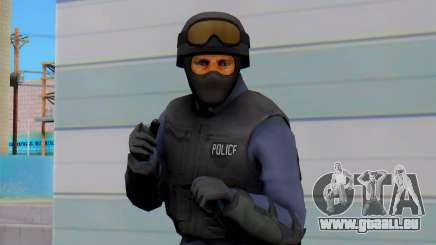 Nuevos Policias from GTA 5 (swat) pour GTA San Andreas