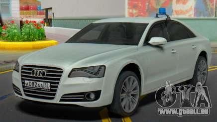 Audi A8 2013 Verwaltung der region für GTA San Andreas