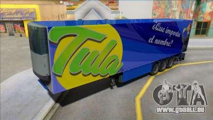 Tula Getränke-Trailer für GTA San Andreas