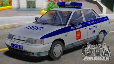 Vaz 2110 PPP Police pour GTA San Andreas