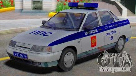Vaz 2110 PPP Polizei für GTA San Andreas