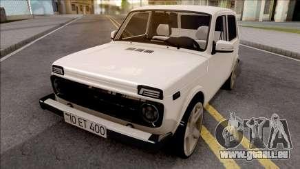 VAZ Niva Aserbaidschan Sheki für GTA San Andreas