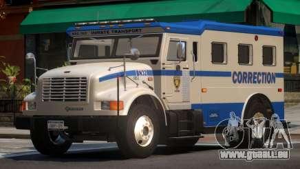 Navistar Intenational 4700 Prison Van für GTA 4