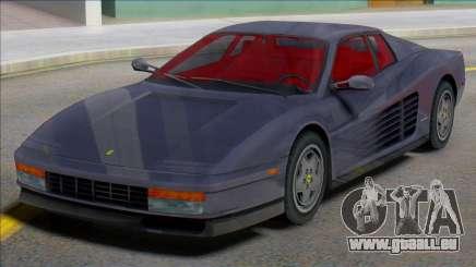 Ferrari Testarossa 1984 (IVF) pour GTA San Andreas