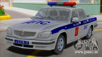 Gaz Wolga 31105 Polizei DPS 2006 für GTA San Andreas