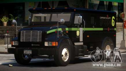 Navistar International 4700 Bank Armored Truck pour GTA 4