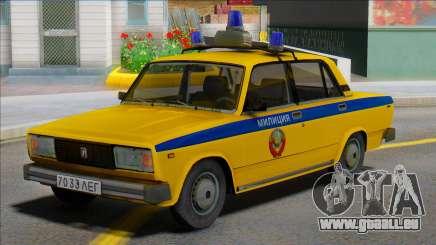 Vaz-2105 Police soviétique 1982 pour GTA San Andreas