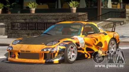 Mazda RX7 CPS PJ4 für GTA 4