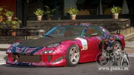 Mazda RX7 CPS PJ2 für GTA 4
