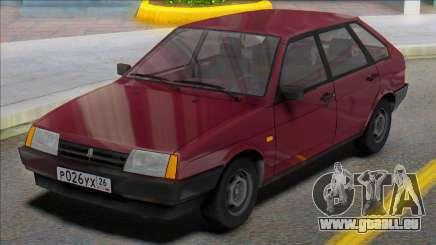 Vaz-2109 Russische Platten für GTA San Andreas