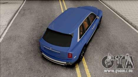 Rolls-Royce Cullinan Blue pour GTA San Andreas