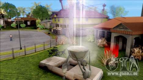 Modern Grove Street 2 pour GTA San Andreas