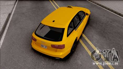 Audi RS6 C7 Taxi pour GTA San Andreas