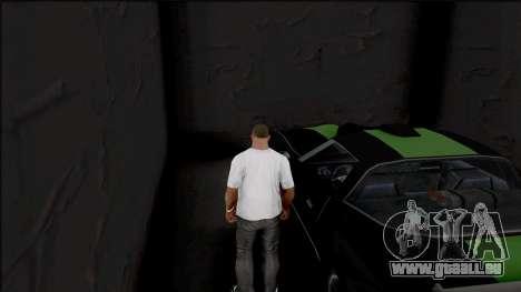 GTA V Style Garage Camera v1 für GTA San Andreas