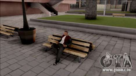 New Sit Animation pour GTA San Andreas