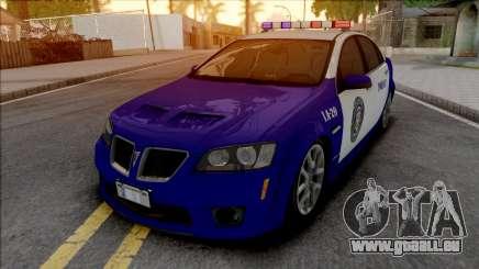 Pontiac G8 GXP LSPD pour GTA San Andreas