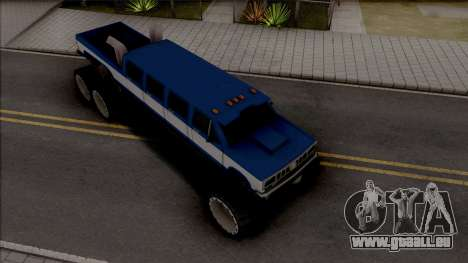 Bobcat Lifted Truck pour GTA San Andreas