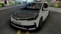 Toyota Corolla Carbon Style pour GTA San Andreas