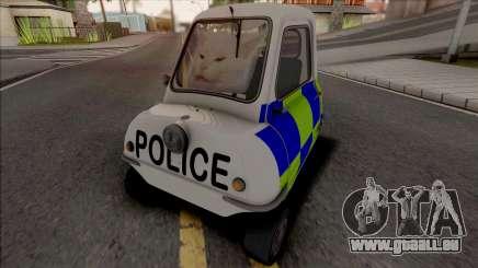 Peel P50 1962 Meme Police pour GTA San Andreas