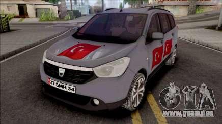 Dacia Lodgy Turkish pour GTA San Andreas