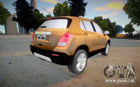 Chevrolet Tracker 2014 pour GTA San Andreas