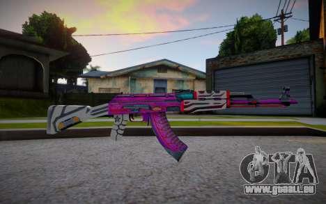 AK47 Armageddon Imperial Driver pour GTA San Andreas