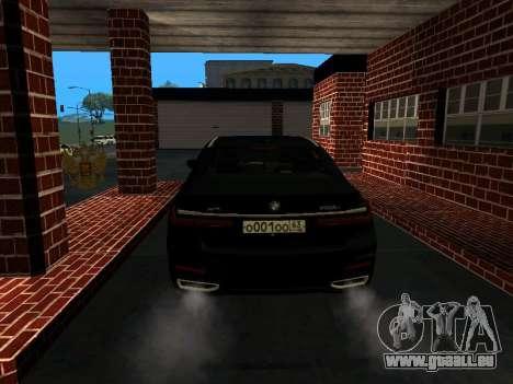 BMW 750Li Xdrive 2021 pour GTA San Andreas