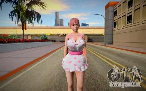 DOAXVV Honoka Sweety Valentines Day pour GTA San Andreas
