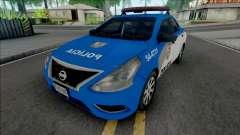 Nissan Versa 2019 PMERJ Improved v2.1 pour GTA San Andreas