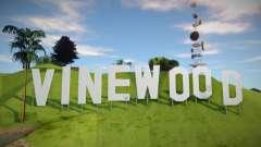 Vinewood Sign From GTA V für GTA San Andreas