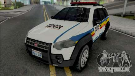 Fiat Palio Weekend Adventure 2013 PMMG pour GTA San Andreas