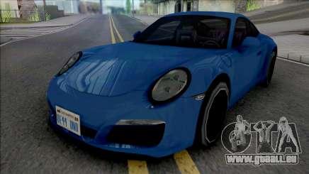 Porsche 911 Carrera 4 2017 Improved für GTA San Andreas