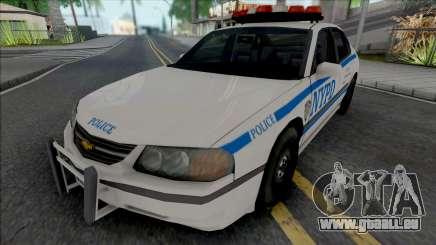 Chevrolet Impala 2003 NYPD (1024x1024 Texture) pour GTA San Andreas