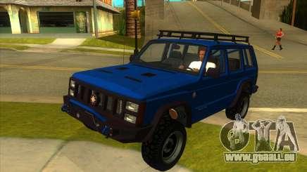 GTA V Canis Seminole Frontier für GTA San Andreas