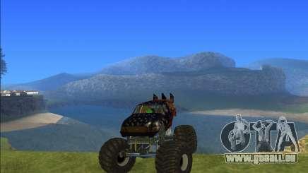 Camion monstre Kisaan pour GTA San Andreas