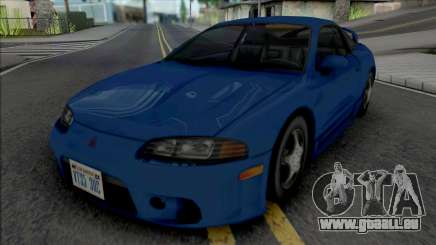 Mitsubishi Eclipse GS-T 1999 Improved pour GTA San Andreas