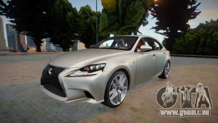 Lexus IS350 F-sport 2014 pour GTA San Andreas