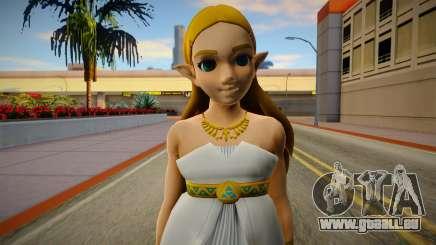 Zelda Goddes Dress Breath Of The Wild pour GTA San Andreas