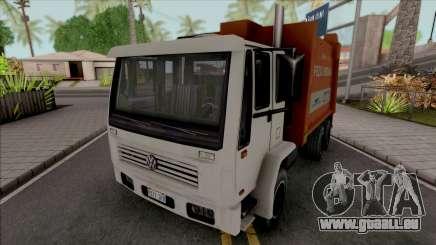 Volkswagen 16200 Garbage Truck (DFT-30 Edition) für GTA San Andreas